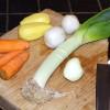 Les légumes d'automne au potager en carrés