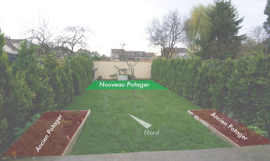 Bien choisir l 39 emplacement de son potager for Implantation jardin paysager