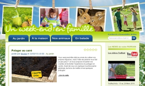 Le Blog un week end en famille