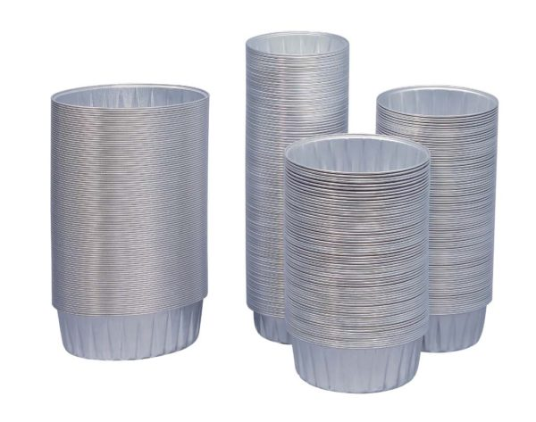 Des ramequins en aluminium