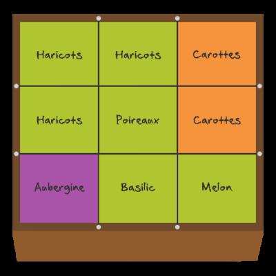 Planification des cultures pour mai et juin dans le premier carré
