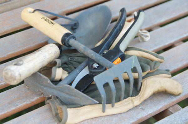 Un minimum d'outils est nécessaire pour cultiver votre potager