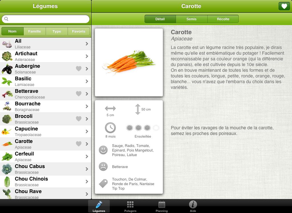 application ipad gratuite