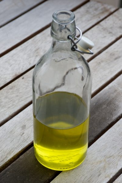 Le sirop en bouteille