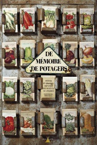 De m moire de potager autour du potager - Cadeau pour jardinier ...