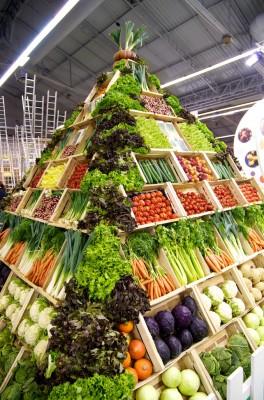 Pyramide de légumes