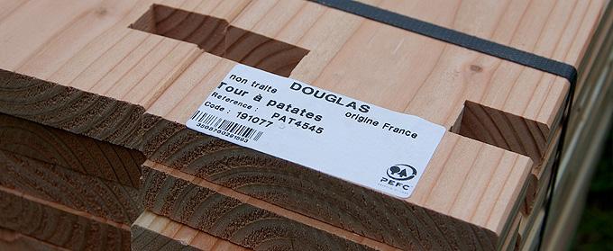 Douglas français non traité