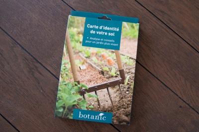 Kit d'analyse pour le sol de votre jardin.