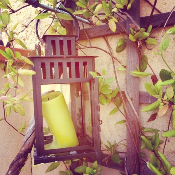 Bougie Lanterne jardin