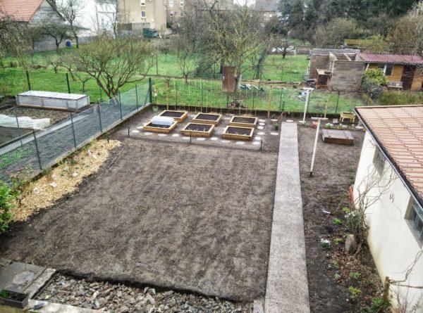 Nouveau Jardin avec Potager