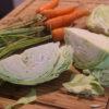 chou et carottes pour coleslaw