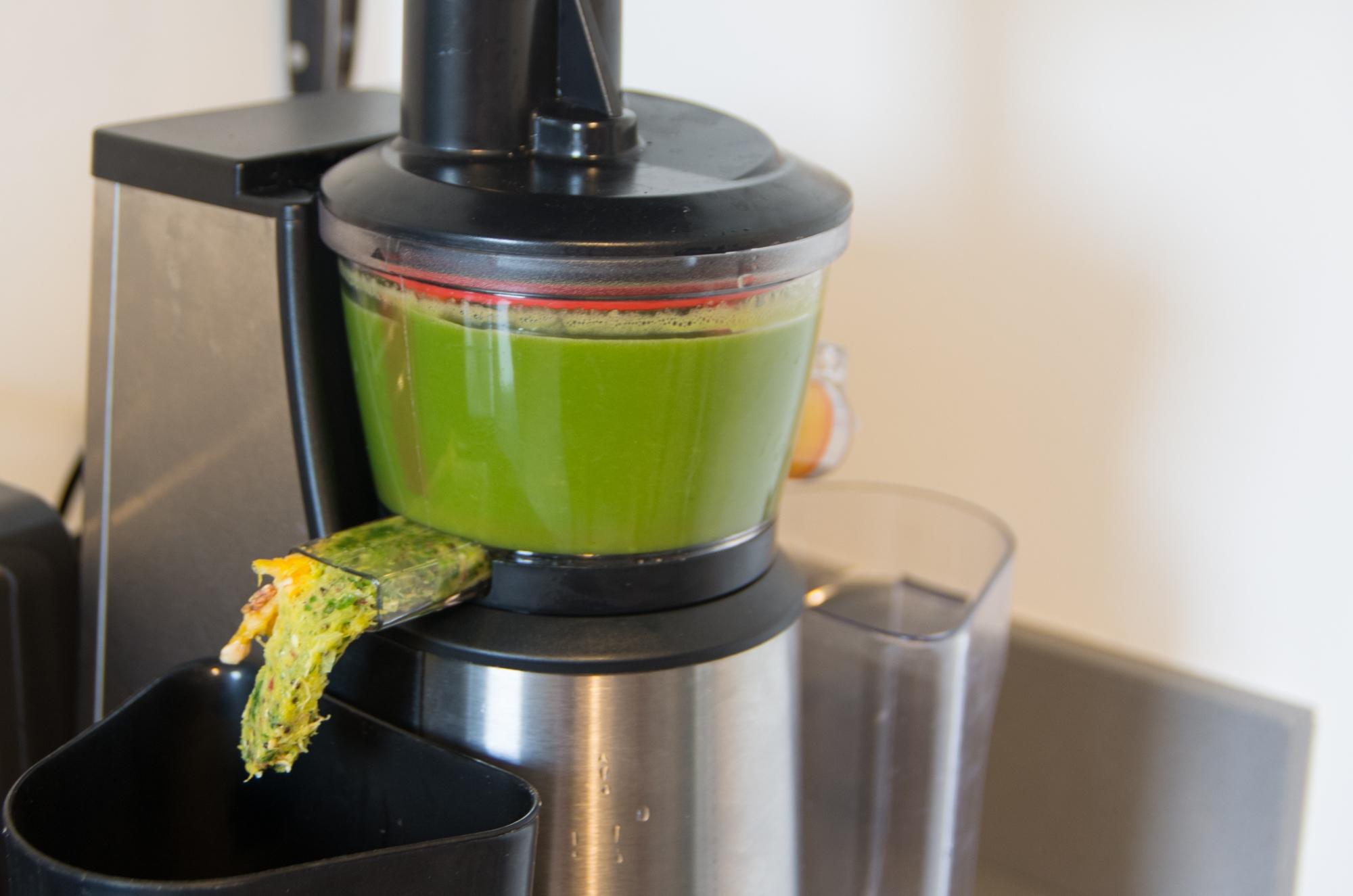 Jus vert avec les l gumes du potager la recette autour du potager - Extracteur de jus une boutique dans mon salon ...