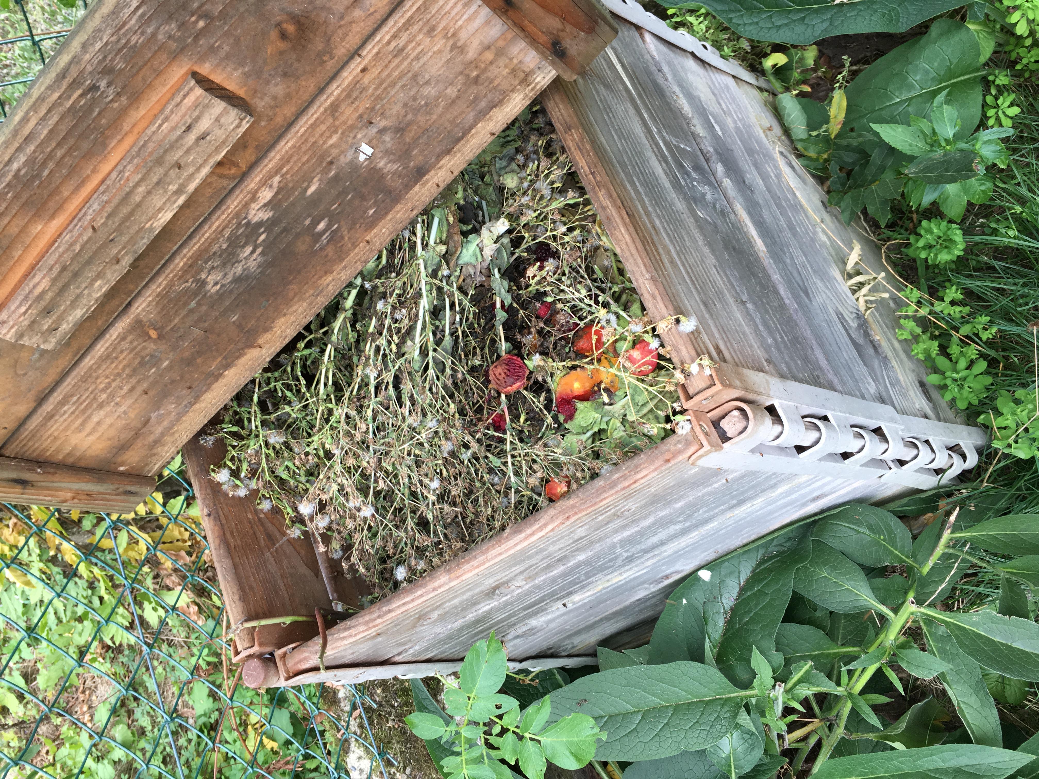 Faire du compost en pot tout en r coltant des l gumes sans - Faire un potager debutant ...