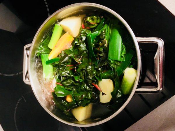 Soupe et potage de légumes