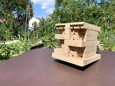 Maison pour abeilles solitaires
