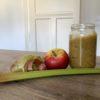 Recette de compotes rhubarbe et pommes