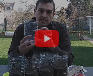 Vidéo : comment faire ses semis de tomates en bouteille