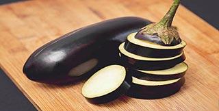 La peau de l'aubergine regorge de vitamines