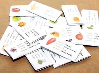 Pochette de graines en papier