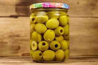 Conservation des olives