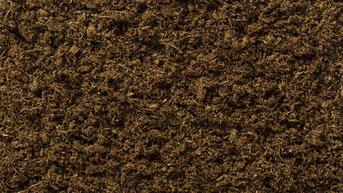 Mélange de terreau ou de compost