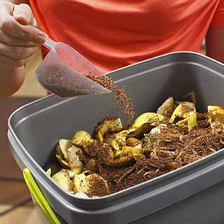 Fertiliser votre potager avec un lombricomposteur.