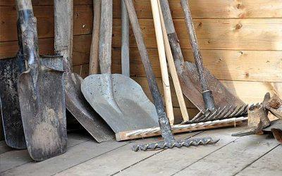 prendre soin de ses outils de jardinage