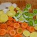 Potage de légumes d'automne